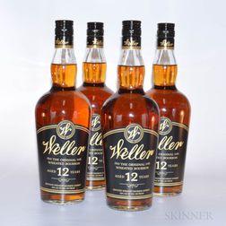 Weller 12 Years Old, 4 750ml bottles