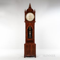 Gothic Mahogany Astronomical Floor Regulator