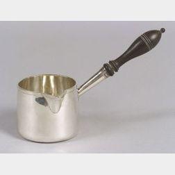 George III Silver Brandy Sauce Pan