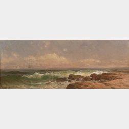 Alfred Thompson Bricher (American, 1837-1908)    Seascape