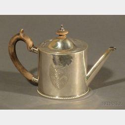 Small George III Silver Teapot