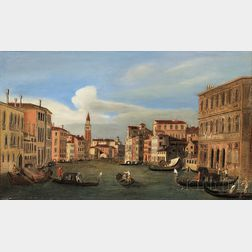 Manner of Michele Giovanni Marieschi (Italian, 1696-1743)      Canale Grande, Venezia