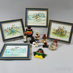 Group of Modern Reproduction Black Americana Collectibles