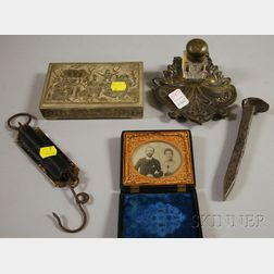 Five Assorted Decorative and Collectible Items