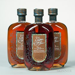 Elijah Craig Single Barrel 20 Years Old 1991, 3 750ml bottles