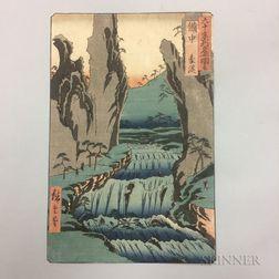 Utagawa Hiroshige (1797-1858), Gokei, Bitchu Province