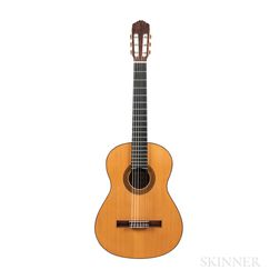 Classical Guitar, Antonio Marin Montero, 1989