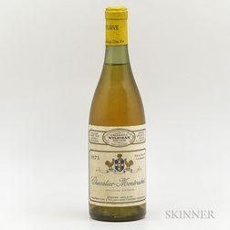 Leflaive Chevalier Montrachet 1973, 1 bottle