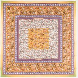 """Framed Hermes """"Chasse en Inde"""" Silk Scarf"""