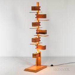 Taliesin Floor Lamp After Frank Lloyd Wright