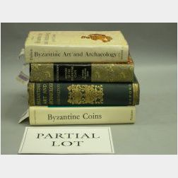 Approximately Thirty Titles Relating to Byzantine Art and Archeology.