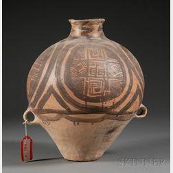 Stoneware Storage Jar