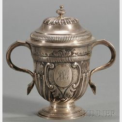 George II Silver Covered Cup