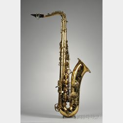 French Tenor Saxophone, Henri Selmer, Paris, 1969, Model Mark VI
