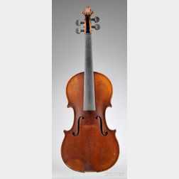 Markneukirchen Violin, Possibly Paul Knorr workshop, c. 1925
