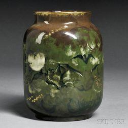 Rookwood Pottery Bat Decorated Vase