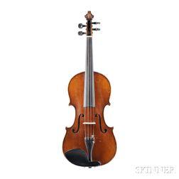 German Violin, Hermann Fiedler, Dresden