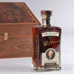 George Washington Single Malt Whisky 2012, 1 750ml bottle