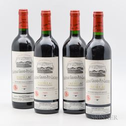 Chateau Grand Puy Lacoste 1995, 4 bottles