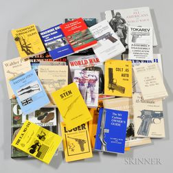 Group of Military History Books and Weapons Manuals