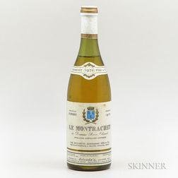 Baron Chenard Le Montrachet 1970, 1 bottle