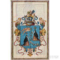 Philip V, King of Spain (1683-1746) Manuscript on Parchment, Carta Executoria de Hildalguia, 23 July 1718.