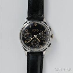 Benrus Sky Chief Three-register Chronograph Wristwatch