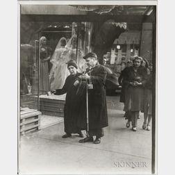 Walker Evans (American, 1903-1975)       Two Blind Street Musicians, Halsted Street, Chicago