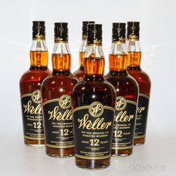 Weller 12 Years Old, 6 750ml bottles