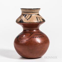 Maricopa Double Pottery Jar
