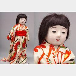 Large Traditional Japanese Ichimatsu Play Doll
