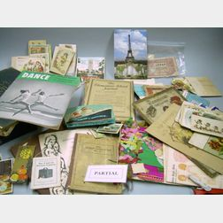 Group of Miscellaneous Ephemera, Collectibles, and Magazines