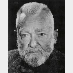 Wes Kemp (American, 20th Century)      Ernest Hemingway.