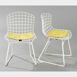 Two Harry Bertoia Children's Chairs