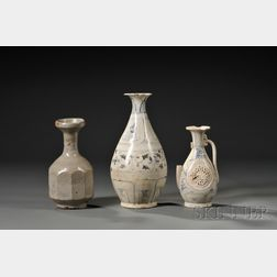 Three Porcelain Vases