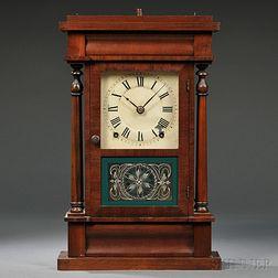 Seth Thomas Miniature Four-column Shelf Clock