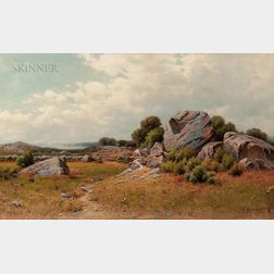 George W. Waters (American, 1832-1912)      Along the Coast