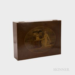 Grand Hotel de l'Europe Marquetry Commemorative Box