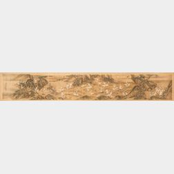 Framed Handscroll Painting