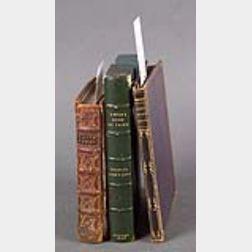 (English Authors, their copies), Three titles