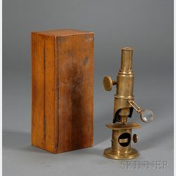 Martin-type Brass Drum Microscope