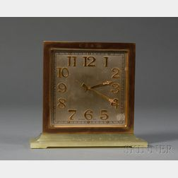 Art Deco S. Kirk & Son Desk Clock