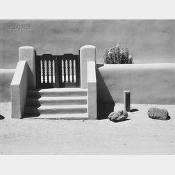 Minor White (American, 1908-1976)      Side Gate Taos Church, N.M. July 1973.