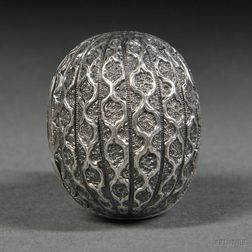 Victorian Sterling Silver Nutmeg Grater