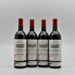 Chateau Grand Puy Lacoste 1989, 4 bottles