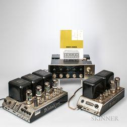 Three McIntosh Audio Components