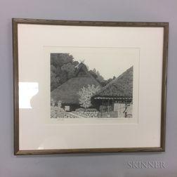 Tanaka Ryohei (b. 1933) Etching
