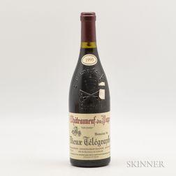 Vieux Telegraphe Chateauneuf du Pape La Crau 1995, 1 bottle