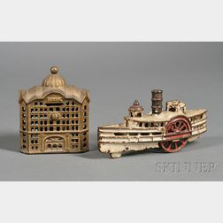 Two Cast Iron Toys