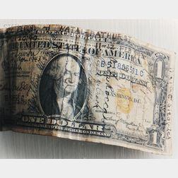 Andrew Bush (b. 1956, American)      1 Dollar Bill, 1996